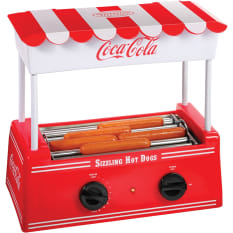 Coca Cola Hot Dog Roller & Bun Warmer