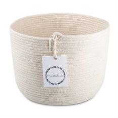 Mia Melange Cylinder Basket