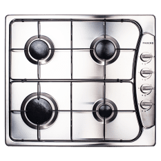 Faber Built-In 4 Burner Gas Hob with Enamel Burners, 60cm