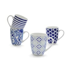 Eetrite Porcelain Mugs 350ml, Set of 4