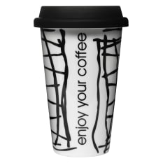 Sagaform Ceramic Travel Mug, 250ml