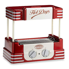Retro Hot Dog Roller & Bun Warmer