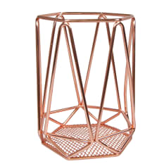 Regent Copper Plated Utensil Holder