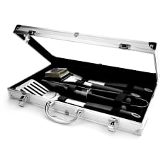Eetrite 4 Piece Braai Tool Set in Aluminium Case