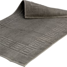 Terry Lustre Grecian Key Bath Mat