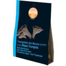 Borde Dried Black Trompettes Mushrooms