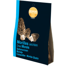 Borde Dried Morels Extra Choice Mushrooms