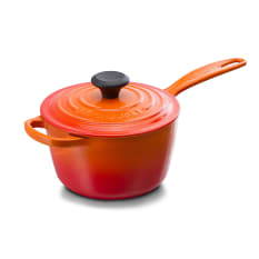 Le Creuset Signature Cast Iron Saucepan with Lid, 16cm