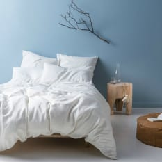 Linen House Nimes White Duvet Cover Set