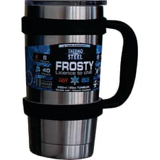 Thermosteel Frosty Vacuum Tumbler with Handle