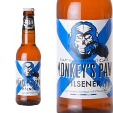 Urban Brewing Co Monkeys Paw Pilsner