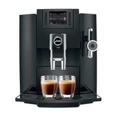 Jura Automatic One Touch 1450W Bean To Cup Cappuccino Machine, E8