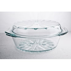 Simax Round Casserole Dish with Steam Lid