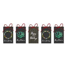 Handmade by me Christmas Gift Tags, Pack of 5
