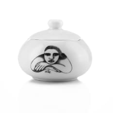 Carrol Boyes Sketchbook Sugar Bowl with Lid