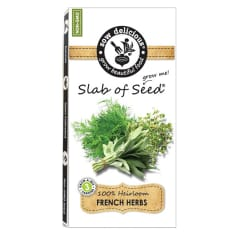 Sow Delicious Gourmet Slab of Seed French Herbs