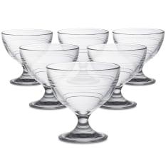 Duralex Gigogne Dessert Bowls, Set of 6
