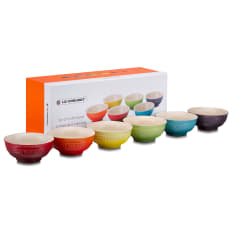 Le Creuset Rainbow Mini Bowls, Set of 6