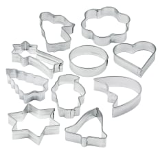 Zenker Assorted Cookie Cutters, Pack of 10