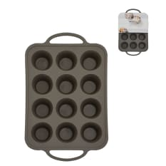 Eetrite Silicone 12 Cup Muffin Pan