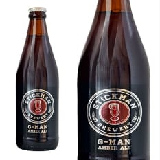Stickman Brewery G-Man Amber Ale