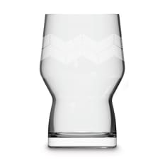 AND UNION Haus Wave Beer Glass, 400ml