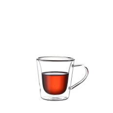 Regent Double Wall Glass Mug
