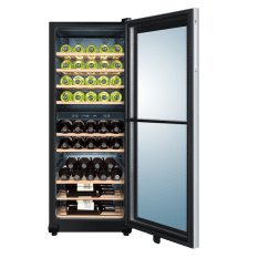 Haier Dual Zone Wine Cooler, 49 Bottles