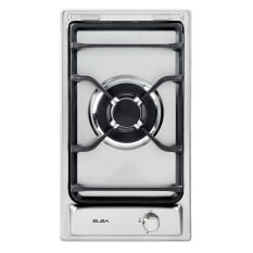Elba Built-In Domino Single Gas Burner on Stainless Steel Hob
