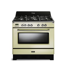 Elba Vintage 5 Burner Gas Stove with Electric Oven, 90cm