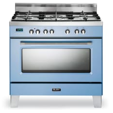 Elba Retro 5 Burner Gas Stove with Electric Oven, 90cm