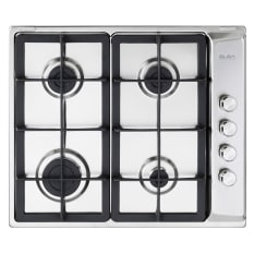 Elba Classic Built-In 4 Burner Gas Hob, 60cm