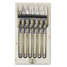 Laguiole by Jean Dubost Table Forks, Set of 6