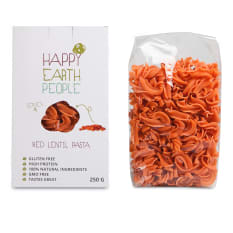 Happy Earth People Red Lentil Pasta, 250g