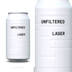 AND UNION Unfiltered Lager Can