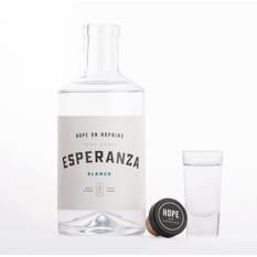 Hope on Hopkins Esperanza Blanco Tequila, 500ml
