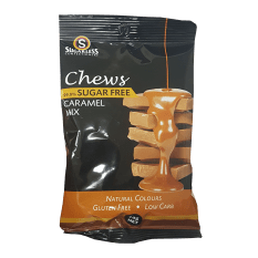 Sugarless Confectionery Caramel Chews, 70g