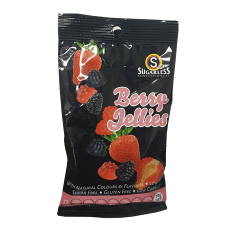 Sugarless Confectionery Berry Jellies, 90g
