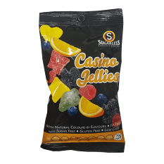 Sugarless Confectionery Casino Fruit Jellies, 90g