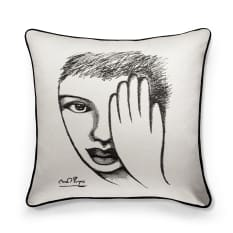 Carrol Boyes Sketchbook An Eye 4 Detail Cushion Cover, 60cm x 60cm