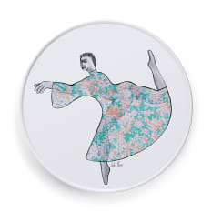Carrol Boyes Dancer Round Serving Platter, 28cm