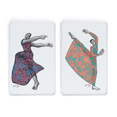 Carrol Boyes Dancer Rectangular Platters, Set of 2