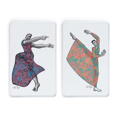 Carrol Boyes Dancer Rectangular Platters, Set of 2