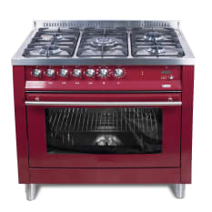 Lofra 5 Burner Gas Stove with Electric Oven, 90cm