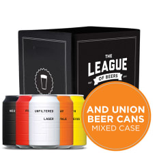 AND UNION Mixed Case of Beer Cans