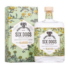 Six Dogs Distillery Karoo Gin, 750ml
