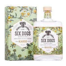 Six Dogs Distillery Karoo Gin, 750ml