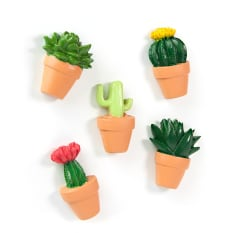 Trendform Cactus Magnets, Set of 5