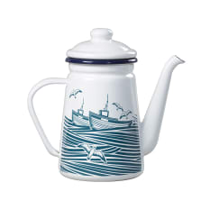 Wild & Wolf Mini Modern Whitby Enamel Coffee Pot, 950ml