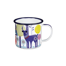 Wild & Wolf Folklore Enamel Day Mug, 400ml